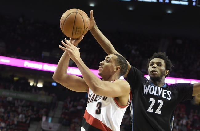 Trail Blazers vs. Timberwolves - 4/9/16 NBA Pick, Odds, and Prediction