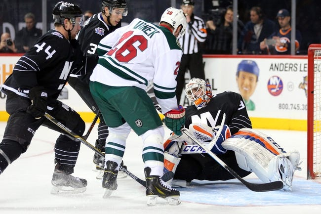New York Islanders vs. Minnesota Wild - 10/23/16 NHL Pick, Odds, and Prediction