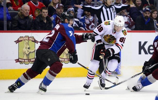 Chicago Blackhawks vs. Colorado Avalanche - 11/3/16 NHL Pick, Odds, and Prediction