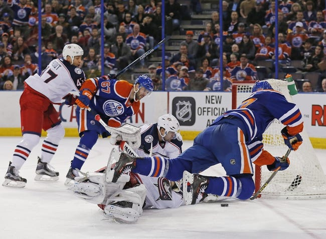 Blue Jackets vs. Oilers - 3/4/16 NHL Pick, Odds, and Prediction