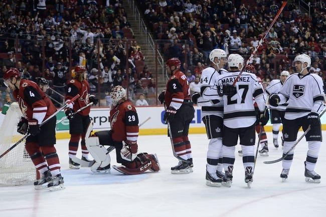 Arizona Coyotes vs. Los Angeles Kings - 12/1/16 NHL Pick, Odds, and Prediction