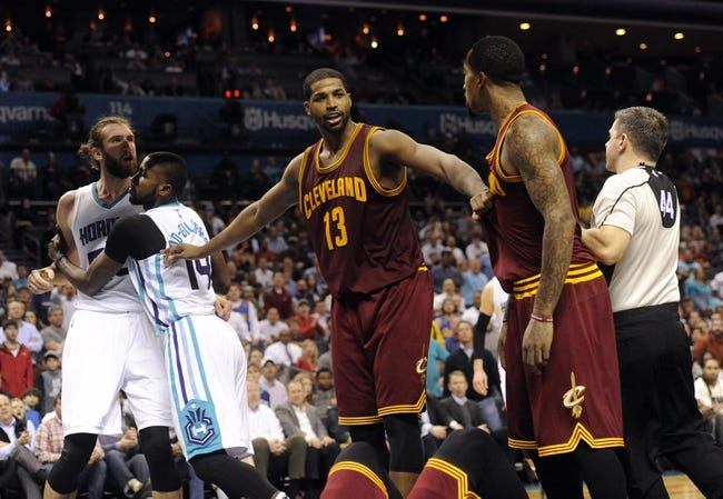 Charlotte Hornets at Cleveland Cavaliers  - 2/24/16 NBA Pick, Odds, and Prediction
