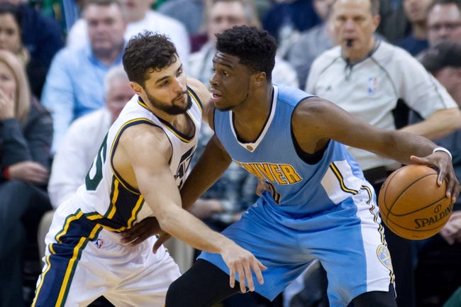 Nuggets vs. Jazz - 4/10/16 NBA Pick, Odds, and Prediction
