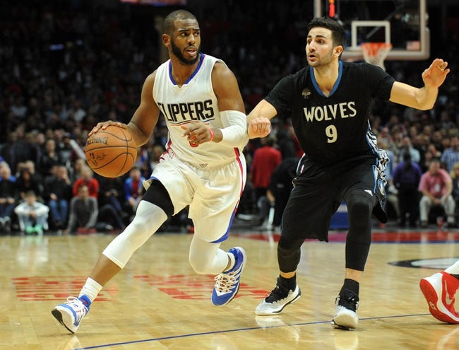 Minnesota Timberwolves vs. Los Angeles Clippers - 3/30/16 NBA Pick, Odds, and Prediction