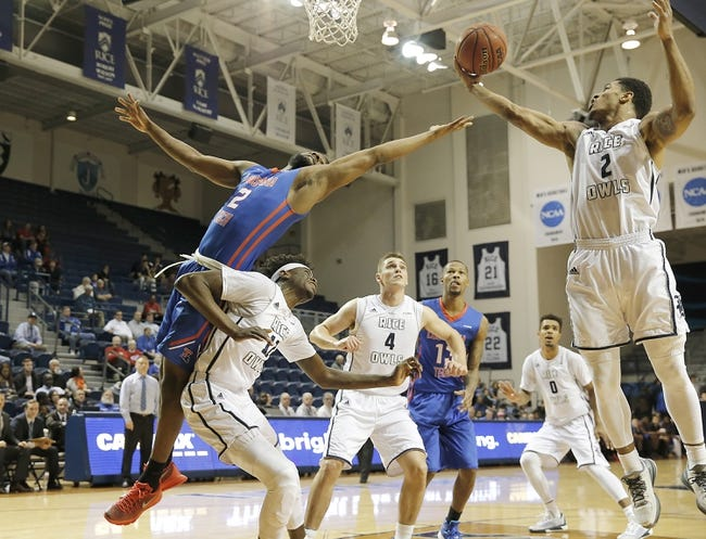 Rice vs. Florida Atlantic - 2/18/16 College Basketball Pick, Odds, and Prediction