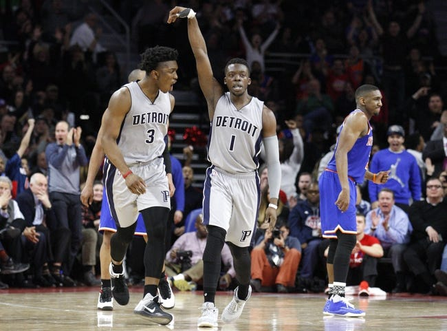 Detroit Pistons at New York Knicks  - 3/5/16 NBA Pick, Odds, and Prediction