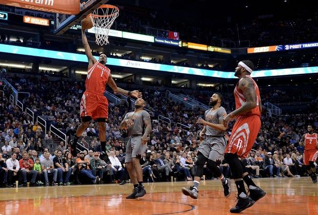 Suns vs. Rockets - 2/19/16 NBA Pick, Odds, and Prediction