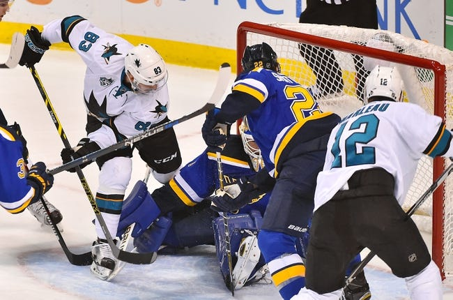 St. Louis Blues vs. San Jose Sharks - 2/22/16 NHL Pick, Odds, and Prediction