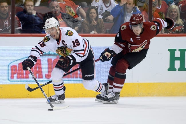 Chicago Blackhawks vs. Arizona Coyotes - 4/5/16 NHL Pick, Odds, and Prediction