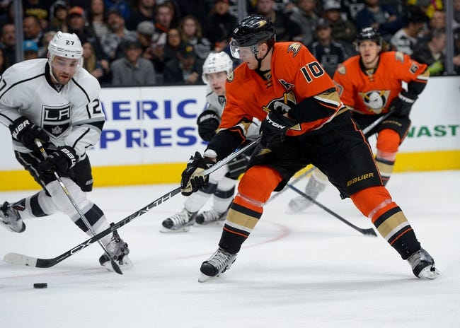 Ducks vs. Kings - 2/28/16 NHL Pick, Odds, and Prediction
