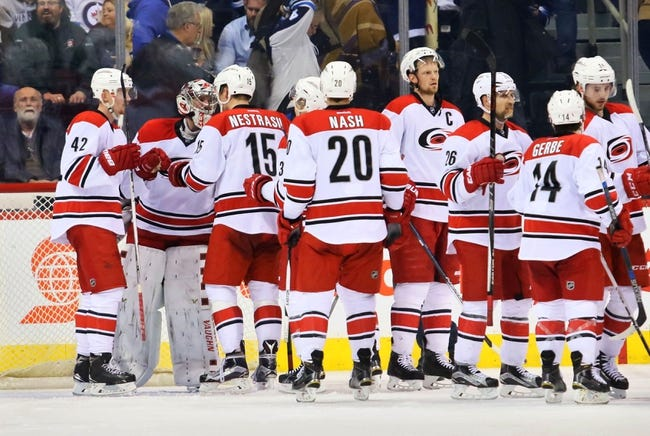 Carolina Hurricanes vs. Winnipeg Jets - 2/16/16 NHL Pick, Odds, and Prediction