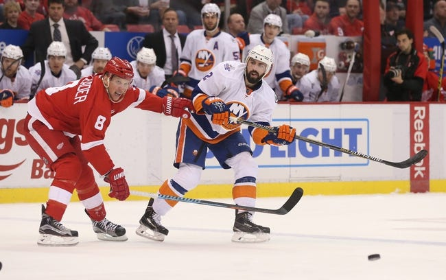 New York Islanders vs. Detroit Red Wings - 2/15/16 NHL Pick, Odds, and Prediction
