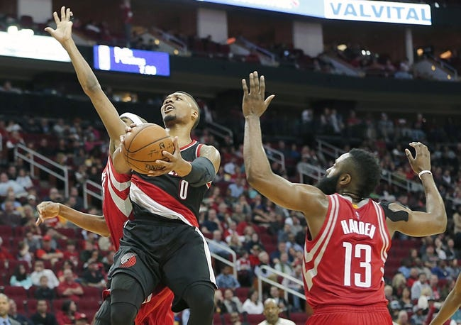 Trail Blazers vs. Rockets - 2/10/16 NBA Pick, Odds, and Prediction