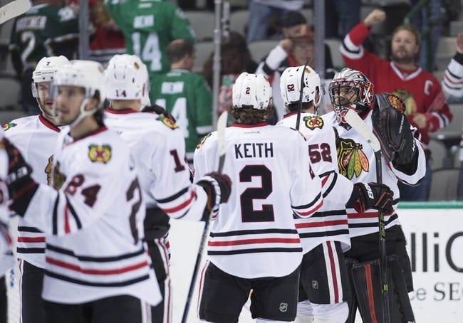 Chicago Blackhawks vs. Dallas Stars - 2/11/16 NHL Pick, Odds, and Prediction