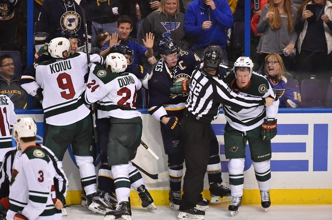 Wild vs. Blues - 3/6/16 NHL Pick, Odds, and Prediction