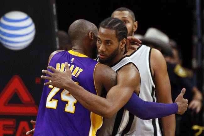 Lakers vs. Spurs - 2/19/16 NBA Pick, Odds, and Prediction