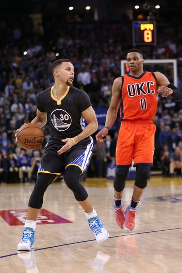 Golden State Warriors at Oklahoma City Thunder - 2/27/16 NBA Pick, Odds, and Prediction