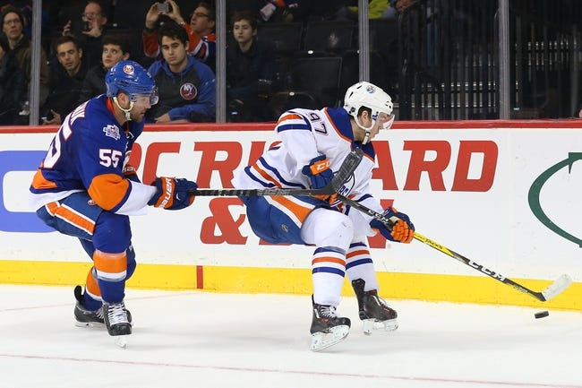 Oilers vs. Islanders - 2/28/16 NHL Pick, Odds, and Prediction