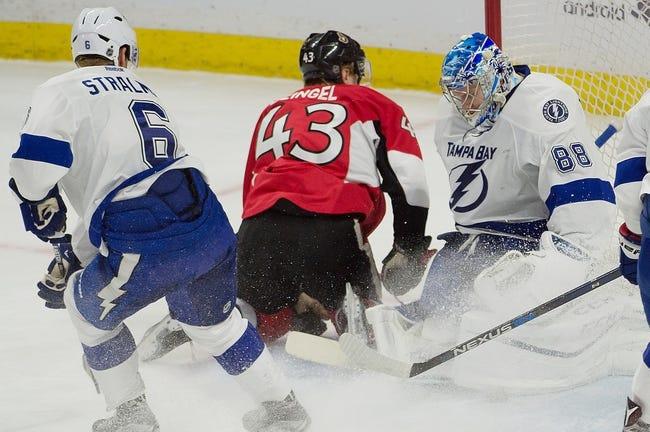 Ottawa Senators vs. Tampa Bay Lightning - 3/3/16 NHL Pick, Odds, and Prediction