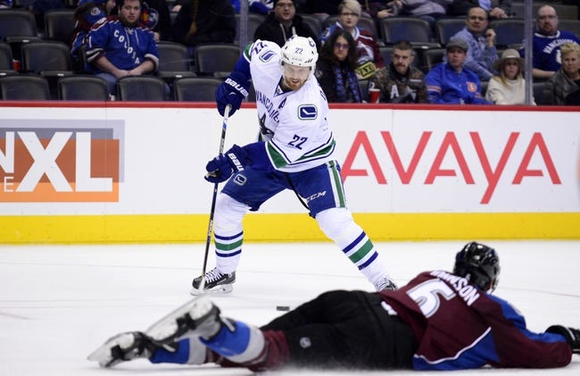 Vancouver Canucks vs. Colorado Avalanche - 2/21/16 NHL Pick, Odds, and Prediction