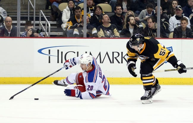 Penguins vs. Rangers - 3/3/16 NHL Pick, Odds, and Prediction