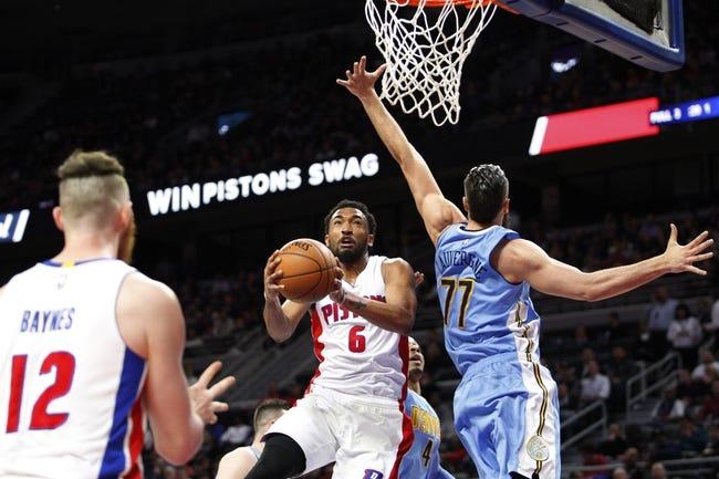 Detroit Pistons vs. Denver Nuggets - 11/5/16 NBA Pick, Odds, and Prediction