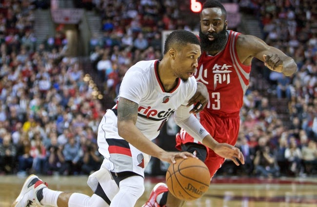 Trail Blazers vs. Rockets - 2/25/16 NBA Pick, Odds, and Prediction