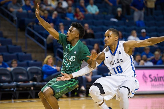 Tulane vs. Tulsa  - 12/31/17 College Basketball Pick, Odds, and Prediction