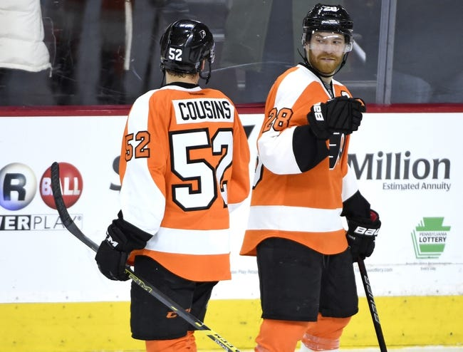 Philadelphia Flyers vs. Buffalo Sabres - 10/25/16 NHL Pick, Odds, and Prediction