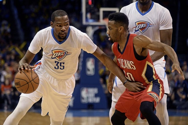 Pelicans vs. Thunder - 2/25/16 NBA Pick, Odds, and Prediction