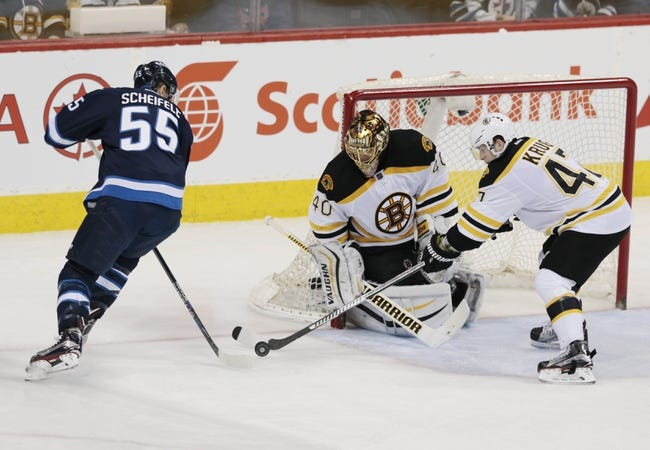 Winnipeg Jets vs. Boston Bruins - 10/17/16 NHL Pick, Odds, and Prediction