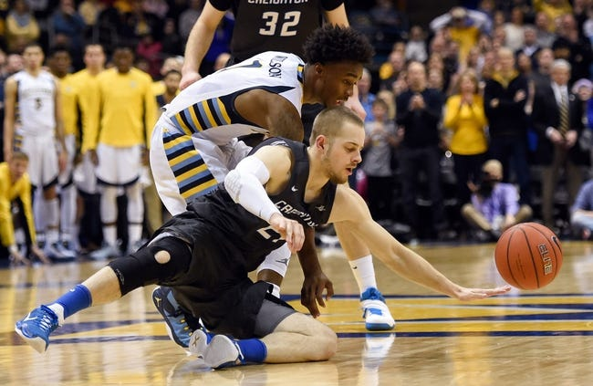 Creighton Bluejays vs. Marquette Golden Eagles - 2/24/16 College Basketball Pick, Odds, and Prediction