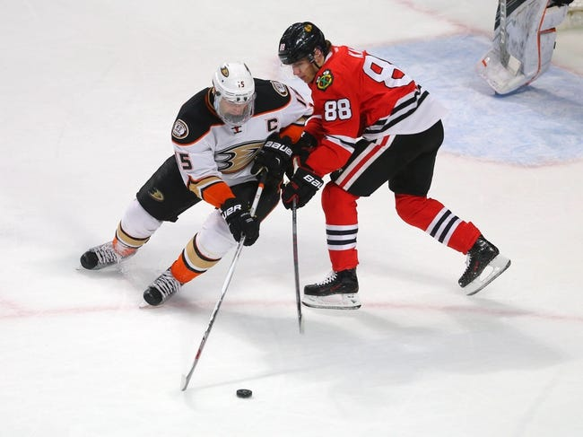 Anaheim Ducks vs. Chicago Blackhawks - 11/25/16 NHL Pick, Odds, and Prediction