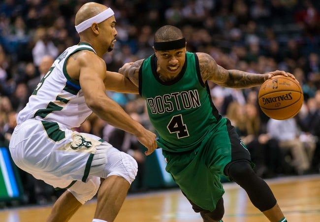 Milwaukee Bucks at Boston Celtics - 2/25/16 NBA Pick, Odds, and Prediction
