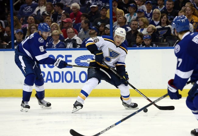 St. Louis Blues vs. Tampa Bay Lightning - 12/1/16 NHL Pick, Odds, and Prediction