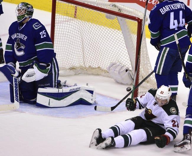 Vancouver Canucks vs. Minnesota Wild - 11/29/16 NHL Pick, Odds, and Prediction