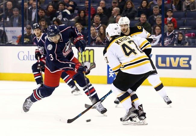 Boston Bruins vs. Columbus Blue Jackets - 2/22/16 NHL Pick, Odds, and Prediction