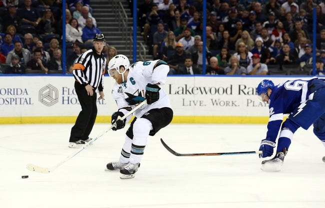 Tampa Bay Lightning vs. San Jose Sharks - 11/12/16 NHL Pick, Odds, and Prediction