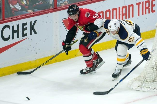 Sabres vs. Senators - 3/18/16 NHL Pick, Odds, and Prediction