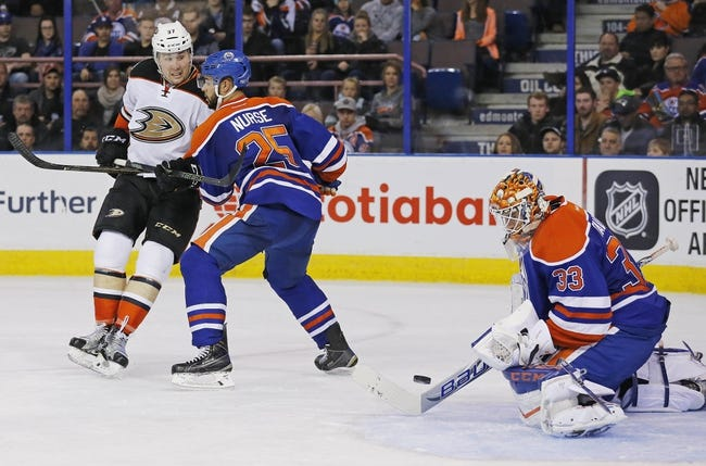 Ducks vs. Oilers - 2/26/16 NHL Pick, Odds, and Prediction
