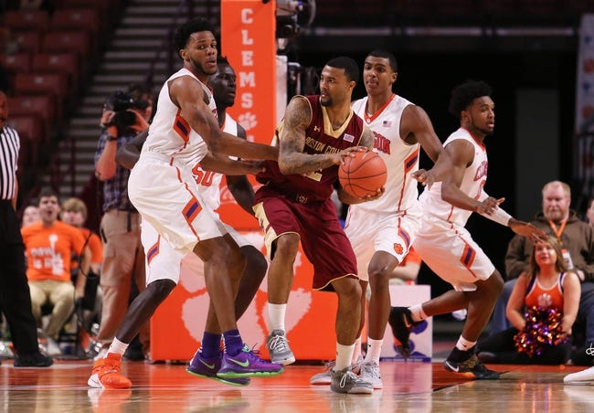 Boston College Eagles vs. Clemson Tigers - 3/5/16 College Basketball Pick, Odds, and Prediction