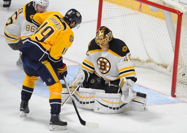 Nashville Predators vs. Boston Bruins - 1/12/17 NHL Pick, Odds, and Prediction