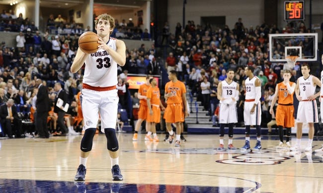 Gonzaga vs. St. Mary's - 2/20/16 College Basketball Pick, Odds, and Prediction