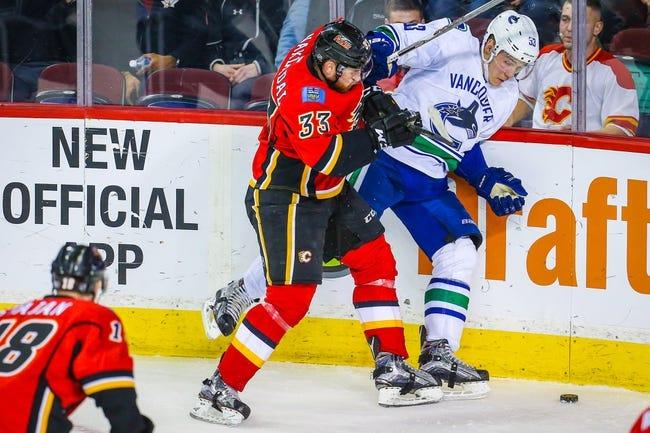 Flames vs. Canucks - 4/7/16 NHL Pick, Odds, and Prediction
