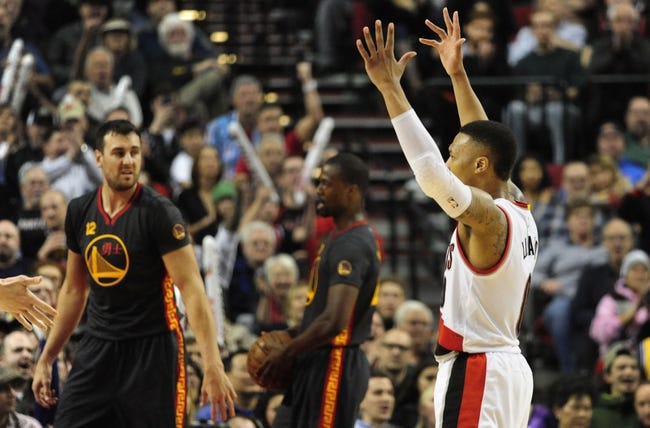 Warriors vs. Trail Blazers - 3/11/16 NBA Pick, Odds, and Prediction
