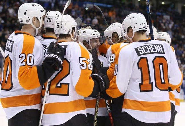 Philadelphia Flyers vs. Toronto Maple Leafs - 4/7/16 NHL Pick, Odds, and Prediction