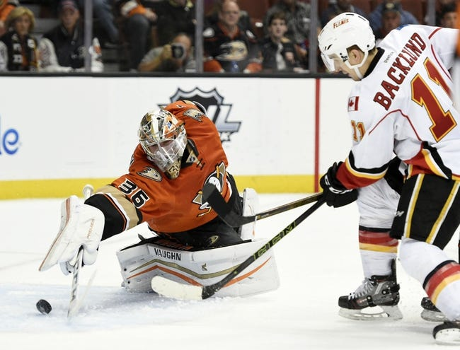 Anaheim Ducks vs. Calgary Flames - 3/30/16 NHL Pick, Odds, and Prediction