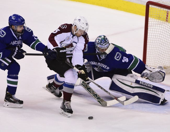 Vancouver Canucks vs. Colorado Avalanche - 3/16/16 NHL Pick, Odds, and Prediction