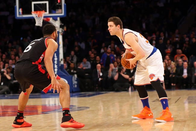 Knicks vs. Raptors - 4/10/16 NBA Pick, Odds, and Prediction