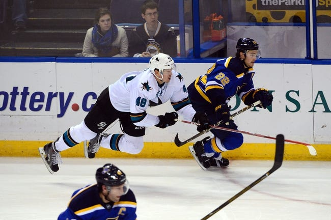 Sharks vs. Blues - 3/22/16 NHL Pick, Odds, and Prediction